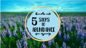 5 steps to abundance
