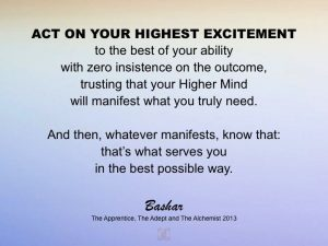 bashar highest excitement quote